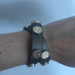 Tory Burch double wrap bracelet